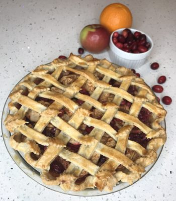 Cranberry Apple Pie