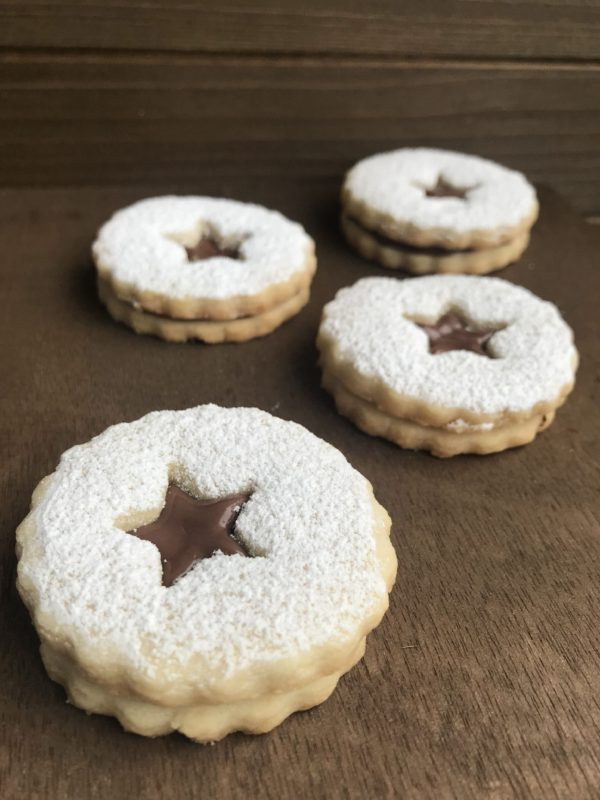 Nutella Sandwich Sugar Cookies