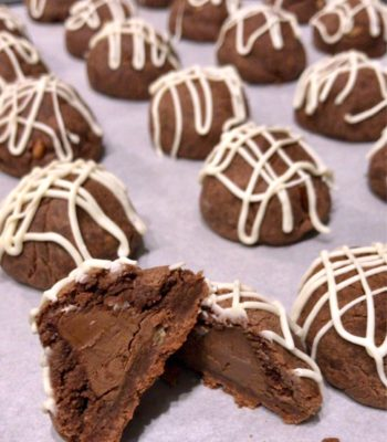 Fudge Bonbon Hershey's Cookies