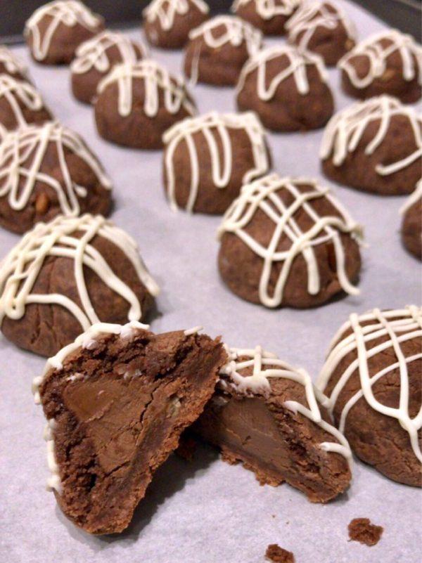 Fudge Bonbon Hershey's Cookies