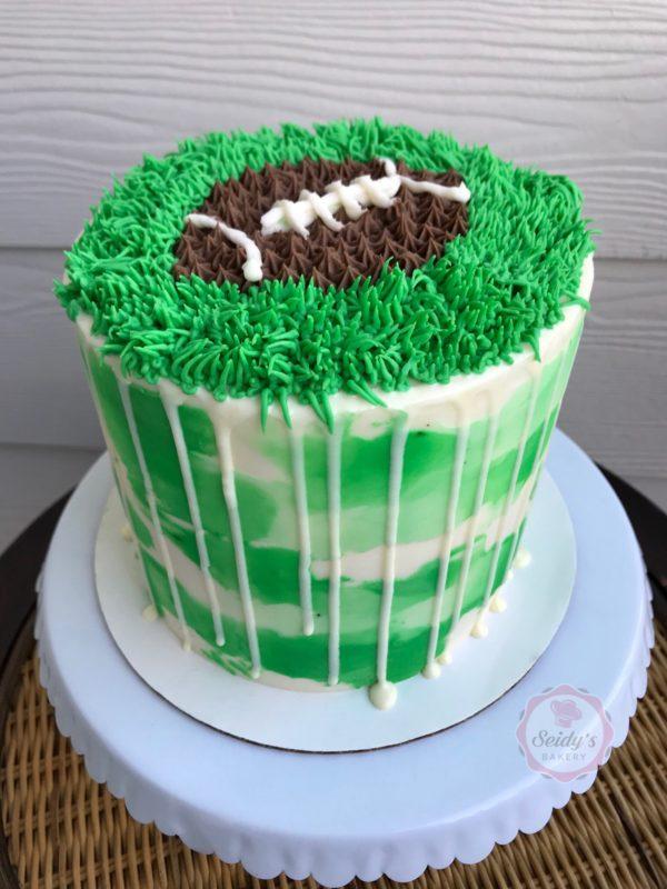 Super Bowl Cake